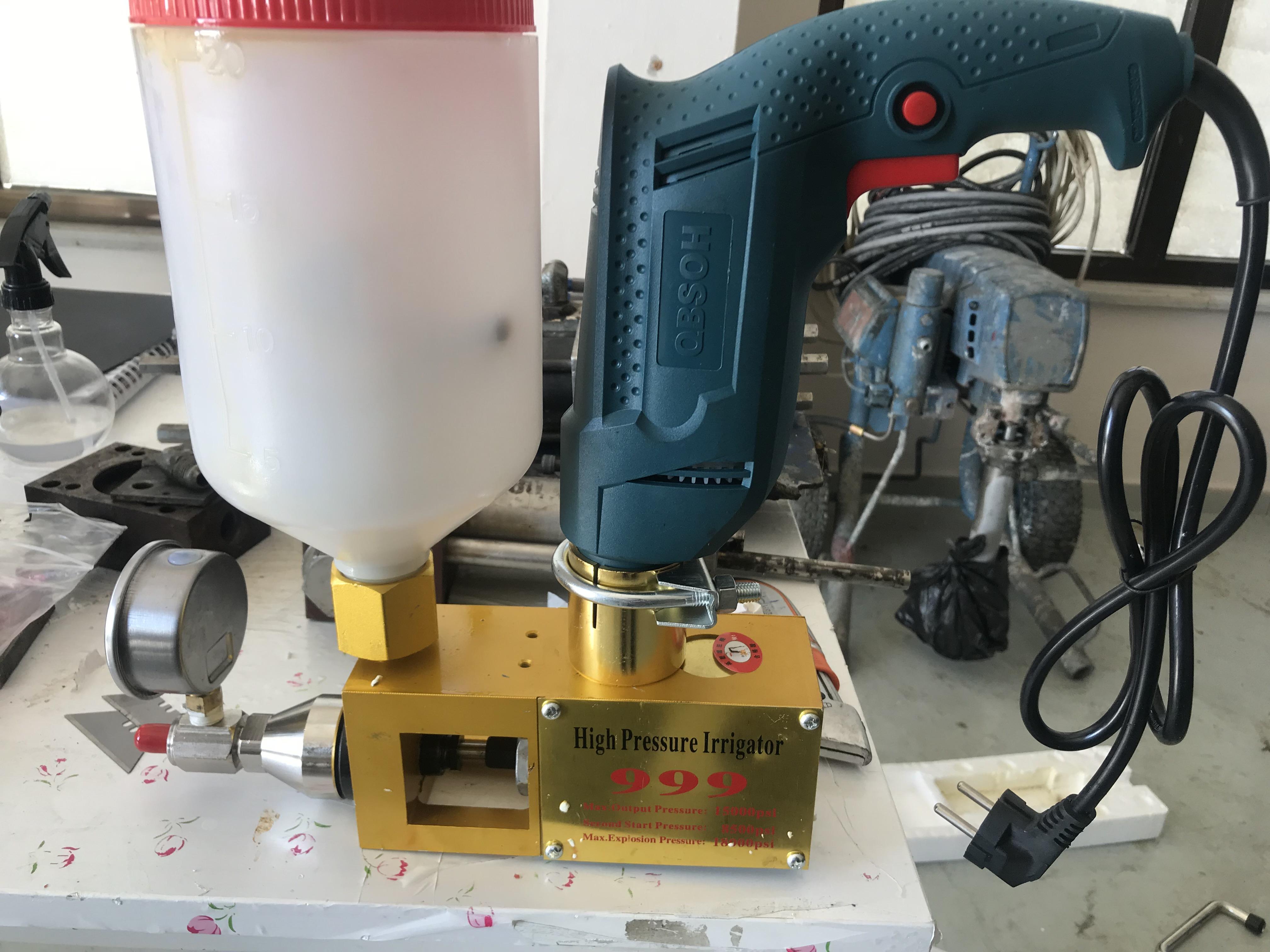 matkaplı poliüretan enjeksiyon makinesi