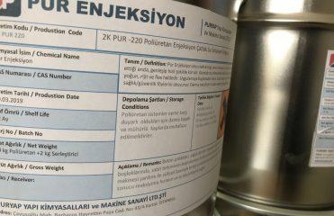 poliüretan enjeksiyn 220