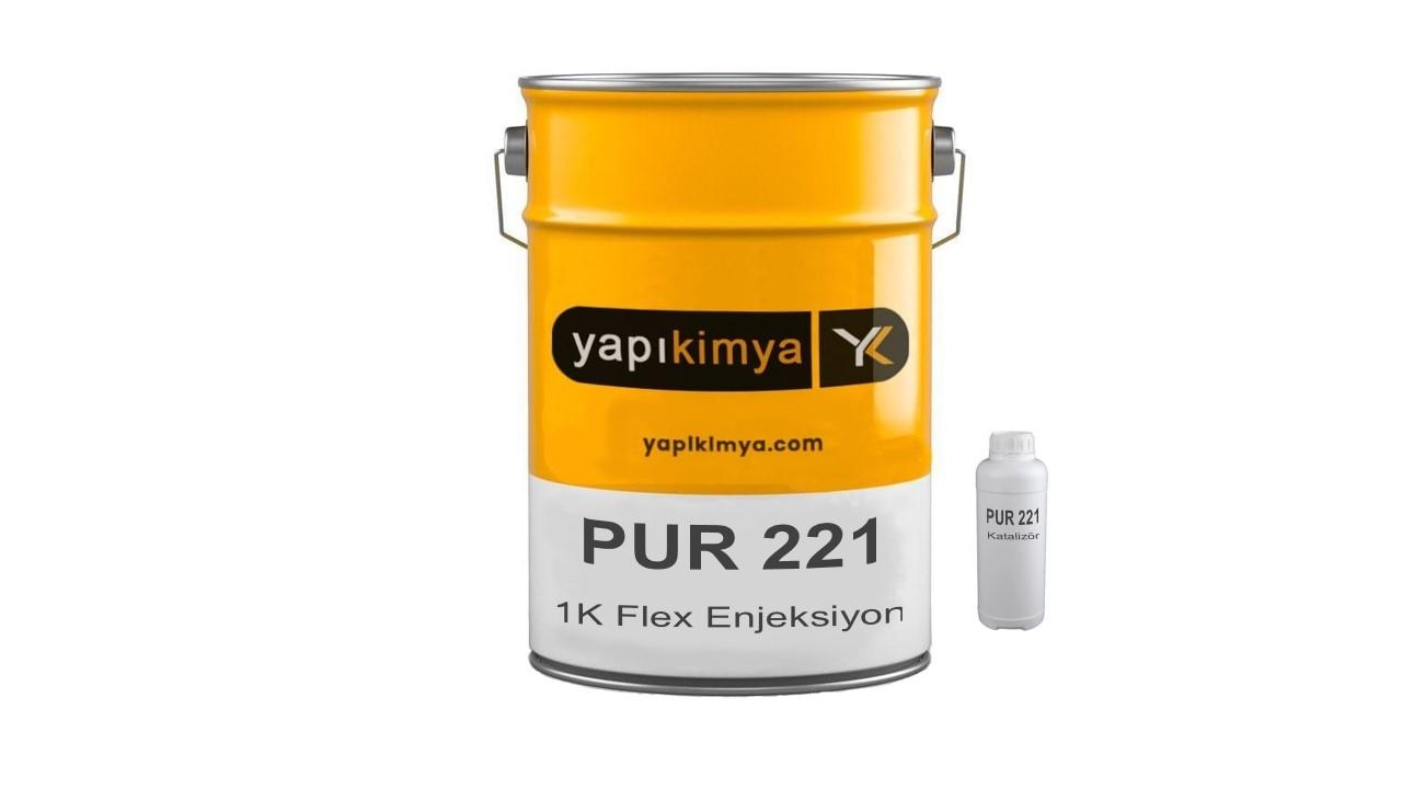 PUR 221 Flex Poliüretan Enjeksiyon Reçinesi