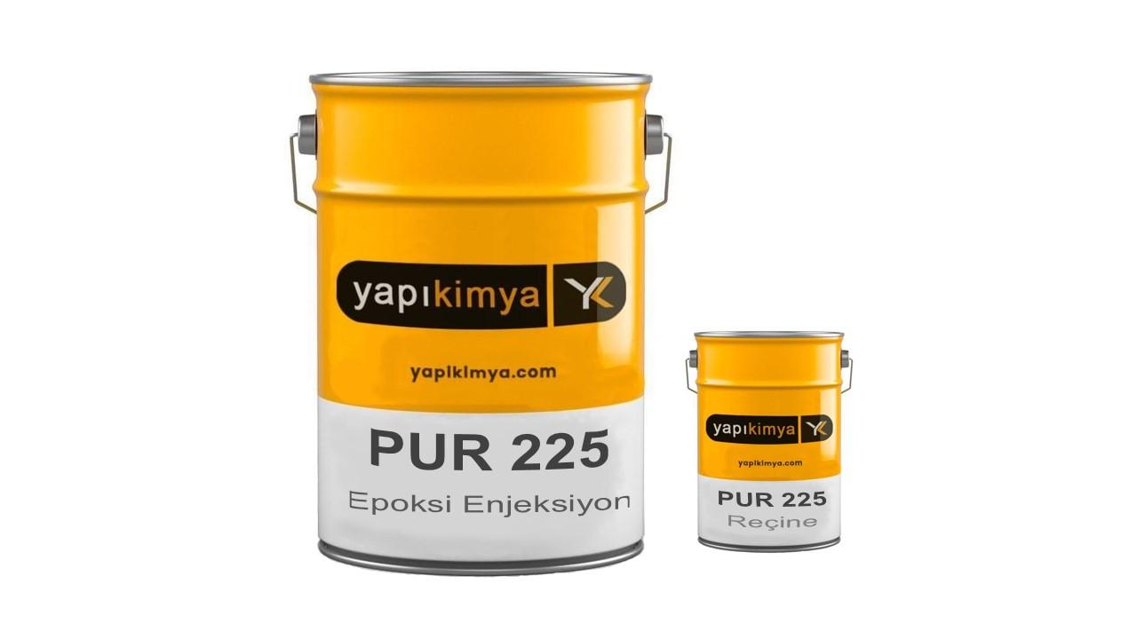 PUR 225 Epoksi Enjeksiyon Reçinesi