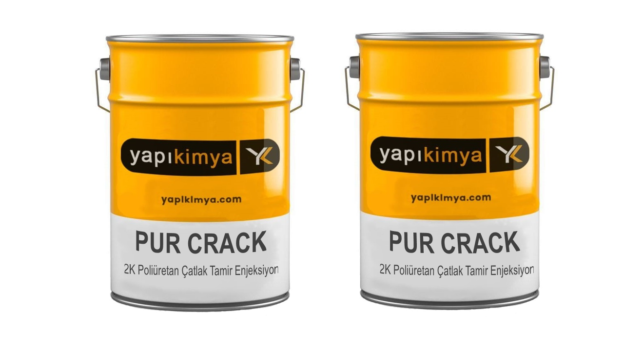 PUR Crack Injection poliüretan epoksi enjeksiyon
